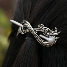 Viking Norse Dragon Infinite Hairpins Vintage Hair Clips for Women Hair Jewelry