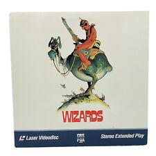 Wizards Laserdisc Anime Ralph Bakshi