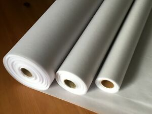 Iron On Interfacing Fusible Fabric - Light, Medium & Heavy weight - 75cm Wide