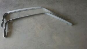 1967 Ford Mustang Fastback Drip Rails Pair
