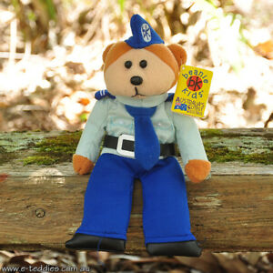 NEW Aaron the Airforce Bear - Beanie Kid Collectable