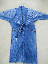 Robe vintage (1980) en jean taille 38-40