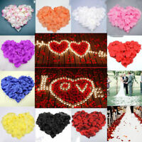 100/1000Pcs  Silk Rose Petals | Wedding Celebration Decoration Flower Confetti