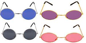 John Lennon Style Sunglasses Ozzy Osbourne Hippy 70's 80's Fancy Dress Glasses