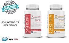 100% Pure Garcinia Cambogia HCA Raspberry Ketone Diet Appetite Control Pills