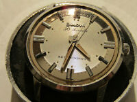 VINTAGE 1965 BULOVA 30 JEWEL AUTOMATIC WATCH FOR RESTORATION OR PARTS