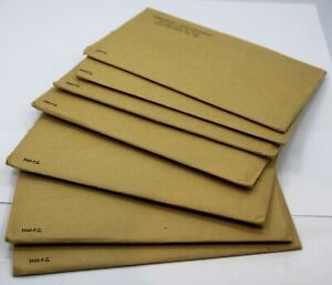 Lot of 7, 1960 US Mint Issued Proof Sets - Brilliant Proof w/ Envelopes !!