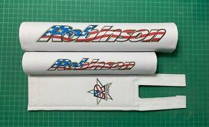Robinson rebel repop Bmx padset (white)