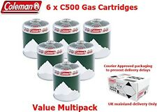 Coleman C500 Gas Cartridges - Multipack Box of 6 -  Courier approved Packaging