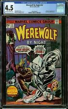 Werewolf by Night #32 CGC 4.5 OW/W - Origin + 1st Appearance of Moon Knight