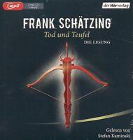 Frank Schätzing - Tod und Teufel DIE LESUNG 2 MP3 CD NEU Krimi Thriller Hörbuch