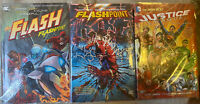 DC Flashpoint, Road to Flashpoint and JLA 3 hc set 1st prints New 52 OOP RARE