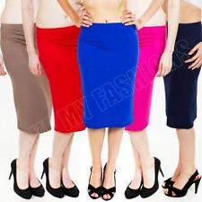 Straight, Pencil Unbranded Machine Washable Knee-Length Skirts for Women