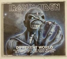 Iron Maiden Different World Cd-Single Europa 2006 Cd fotodisco