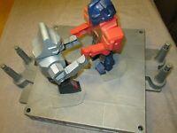 Vintage 1985 Hasbro Transformers Battlin Robots  RARE ! WORKS !! please read