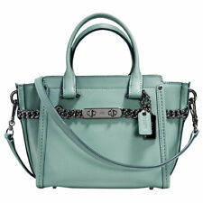 Coach Swagger glovetanned 21 Borsa a tracolla in pelle, cloud-WOMANS/Borsetta/Crossbody