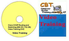 Cisco CCNP Routing and Switching (300-101,115,135) Video Training (5 DVDs)