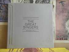 GREAT SINGERS EASTON PRESS - 4 LP AUDIOPHILE JUDY GARLAND DORIS DAY EDDIE FISHER