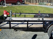 Lockable Trimmer Rack Landscape OPEN trailer PK-6S