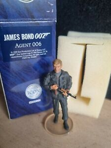 'Agent 006' Corgi Icon James Bond 007 Figure - F04091 Boxed