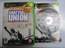 SHATTERED UNION - XBOX GAME / 360 COMPATIBLE - FAST POST - ORIGINAL & COMPLETE