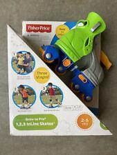 Fisher-Price Grow to Pro 1, 2, 3 InLine Skates - New