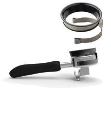 Espresso Coffee Dosing Ring Funnel 58mm Portafilters E61 Cafe Ground Ring Funnel