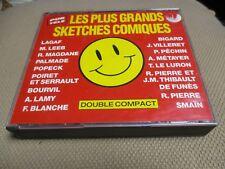 "COF 2 CD ""LES + GRANDS SKETCHES COMIQUES"" Popeck Roger PIERRE Jean-Marc THIBAULT"