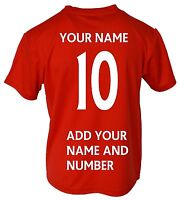 Arsenal FC Soccer Jersey Youth Kids Training - Add Your Name & Number