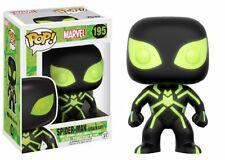 Marvel Spider-Man Stealth Suit (glows) Funko Pop! Vinyl Bobble-head Boxed Figure