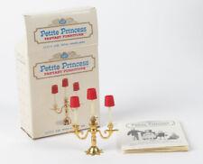 Ideal Petite Princess Royal Candelabra 200 dollhouse furniture vtg
