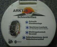 SCHNEEKETTEN:  ARKTIS ARK602 TYP E UNBENUTZT im KOFFER!