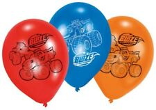 6 x Boys Girls Birthday Party Blaze & The Monster Machines Themed Latex Balloons