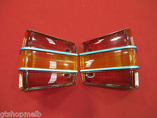 FORD XW GT GS TAIL LIGHT LENSES PAIR SUIT FALCON 500 FAIRMONT FUTURA BRAND NEW