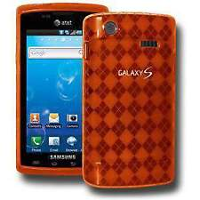 AMZER LUXE ARGYLE TPU SOFT GEL SKIN CASE PROTECTOR FOR SAMSUNG CAPTIVATE i897