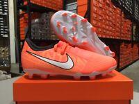Nike Junior Phantom Venom Academy FG Soccer Cleats (Mango/White) Size: 1-6y NEW!