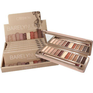 Beauty Creations Barely Nude 2 Eyeshadow Palette 12 colors  E12BN-B