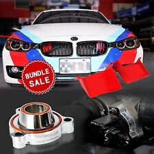 Aluminum Air Scoop & Blow-off Valve Adaptor For BMW F30 F31 N20 Bundle Sale