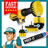 3 Pcs Drill Brush Set Power Scrubber Drill Attachment Carpet Cleaning Tile Grout