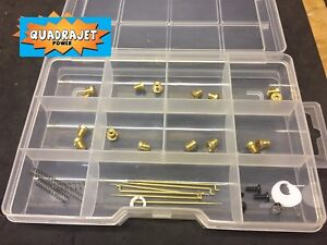 Quadrajet Ultimate tuning kit, Jets, primary rods, springs and so much more!!!!