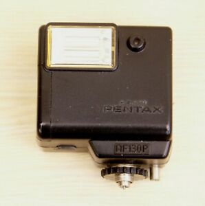 PENTAX AF130P FLASH WITH POUCH - FOR THE 110 SYSTEM