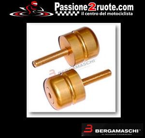 Pair Weights Stabilizers Handlebar Specific Suzuki Gold
