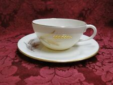 Lenox Wheat Gold Trim: Cup/Saucer Set (s)