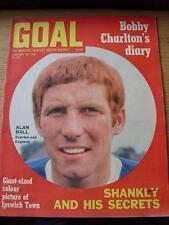 Objectif de 18/01/1969 magazine: Nº 24-Alan Ball d'Everton et Angleterre (sur le couvercle)