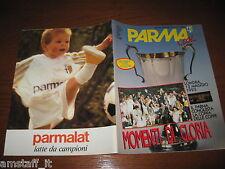 RIVISTA CALCIO PARMA LOOK 1994/5=MOMENTI DI GLORIA=TRIONFO COPPA DELLE COPPE=