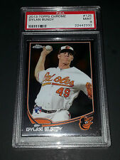 2013 Topps Chrome #125- Dylan Bundy Rookie Card! PSA Graded Mint 9!