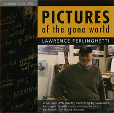 Lawrence Ferlinghetti Pictures of the Gone World CD/DVD