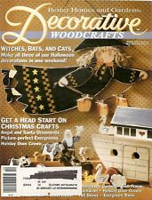 DECORATIVE WOODCRAFTS :  Back Issue - October 1993