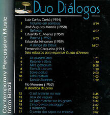 DUO DIALOGOS  contemporary percussion music from brazil