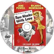 TWO WEEKS WITH LOVE - Jane Powell Ricardo Montalbán Debbie Reynolds DVD